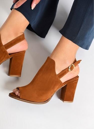 D by Divarese Topuklu Ayakkabı Taba